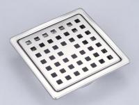 10x10 總存水 地板落水頭 (小方孔)