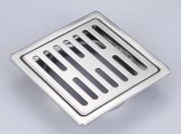 10x10 總存水 地板落水頭 (長條孔)
