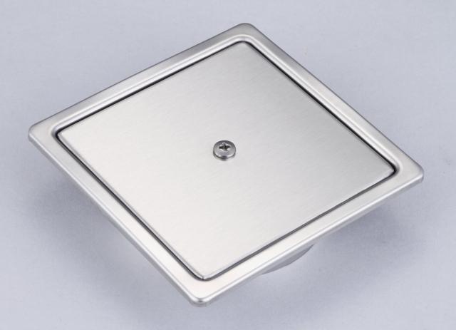 10x10 總存水 地板落水頭 (無孔)
