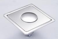 御品師 10x10 內按壓式附蓋防蟲、防臭地板落水頭 (無孔)