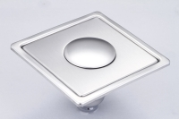 御品师 10x10 内按压式附盖防虫、防臭地板落水头 (无孔)