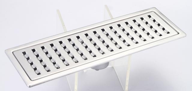 御品師 10x30 防臭、防蚊水門型快速方形孔集水槽 (附水門、攔截片)
