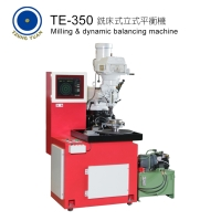 Milling & dynamic balancing machine