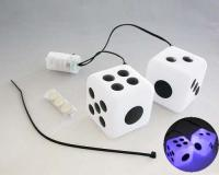 Dice-shaped decorative light
