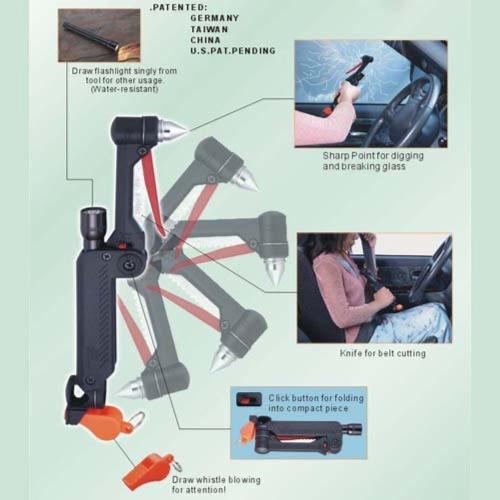 Multipurpose Emergency Hammer