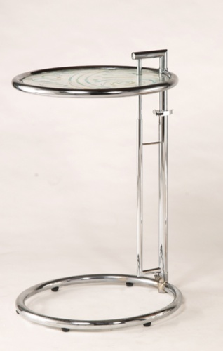 Round table with quick adjuster