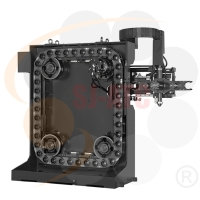 CHAIN TYPE TOOL MAGAZINE WITH HYDRAULIC ROBOTIC ARM