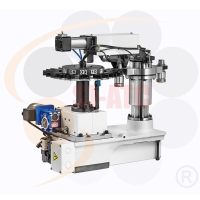 ATC for double-column machine center-robotic arm type tool magazine