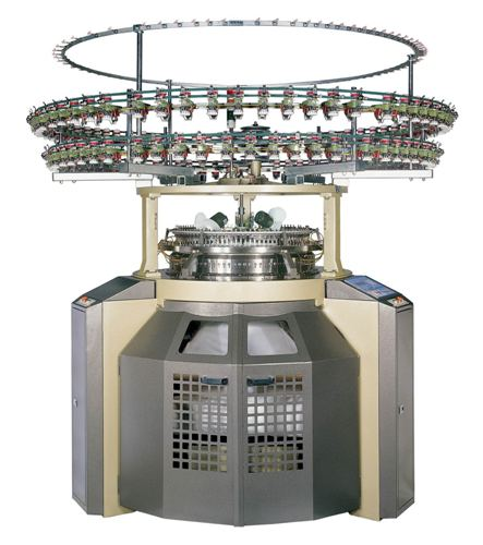 Fleecy Jersey Circular Knitting Machine
