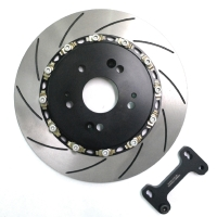 Forged large brake disc