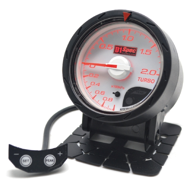 Distinct Racing Gauge 52mm White