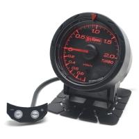 Distinct Racing Gauge 52mm Black