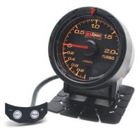 二代高準度賽車錶 黑面 52mm