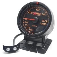 二代高準度賽車錶 黑面 60mm