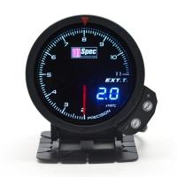 三代高準度賽車錶 黑面 60mm 【排溫錶】