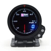 三代高準度賽車錶 黑面 60mm 【燃壓錶】