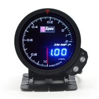 三代高準度賽車錶 黑面 60mm 【真空錶】