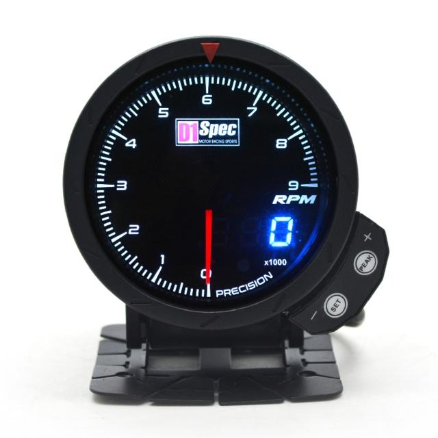 三代高准度赛车表 黑面 60mm 【转速表】