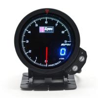 三代高準度賽車錶 黑面 60mm 【轉速錶】
