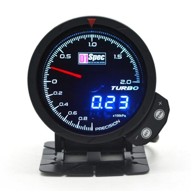 Distinct Racing Gauge III 【TURBO 2BAR】