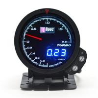 三代高準度賽車錶 黑面 60mm 【渦輪錶 2BAR】