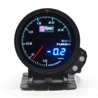 三代高準度賽車錶 黑面 60mm 【渦輪錶 3BAR】