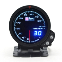 三代高準度賽車錶 黑面 60mm【水溫錶】