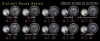 D1 Spec 賽車錶