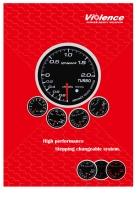 Violence Distinct Gauge/Racing Gauge/digital gauge