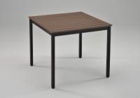 仿木戶外用四方型餐桌