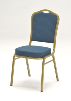 Crown Back Satcking Chair