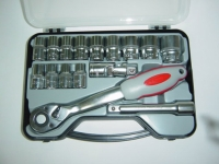 "17PCS 1/2"" drive socket set"