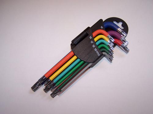9支組磁性六角扳手
