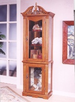 Cens.com ANTIQUE GLASS CURIO CABINET 欣龍家俱 (深圳) 有限公司