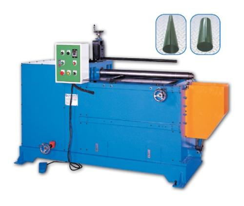 Dual-Axle Metal Plate Circle Forming Machine