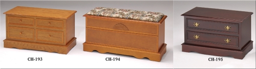 Wooden Quilt Storage Cabinets/Chests