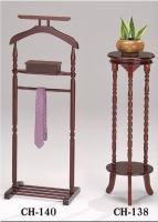 木制西装架/领带架、花架/电话架