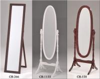 木製組合式穿衣鏡/折合式立鏡