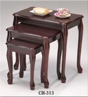 木製三套桌