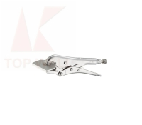 Locking sheet metal clamp