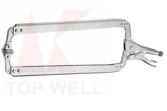 LOCKING C-CLAMP WITH SWIVEL PADS