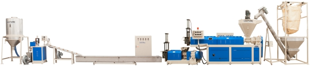 Global Issue ━ RECYCLING & PELLETIZING EXTRUDER
