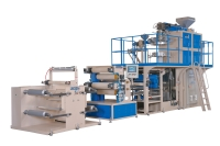 Line Of Single-Screw Extrusion For PP Tubular Film Blowing Making Machine
