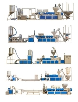 Plastic Compounding / Coloring / Waste Recycling Pelletizing  Machine