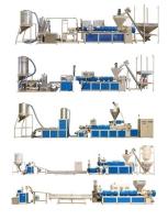 單 / 雙螺桿 混鍊 / 染色 / 廢料回收製粒機
