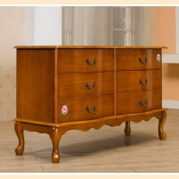 Horizontal Six-Drawer Dressers