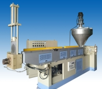 Two-stage waste reproduction machine