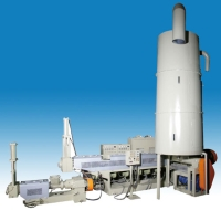 雙透氣子母式薄膜專用壓出再生機
