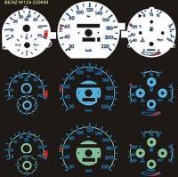 Halo-Reverse E.L. Meter Face Kit