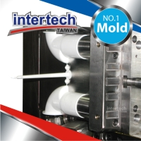 Pipe fitting mold